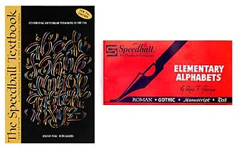 Speedball Textbook Lettering Book Calligraphy Books